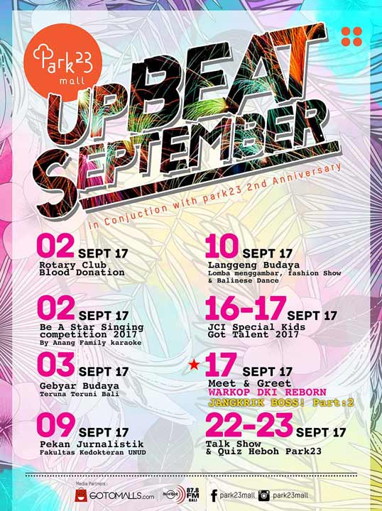 Upbeat September Event at Park23