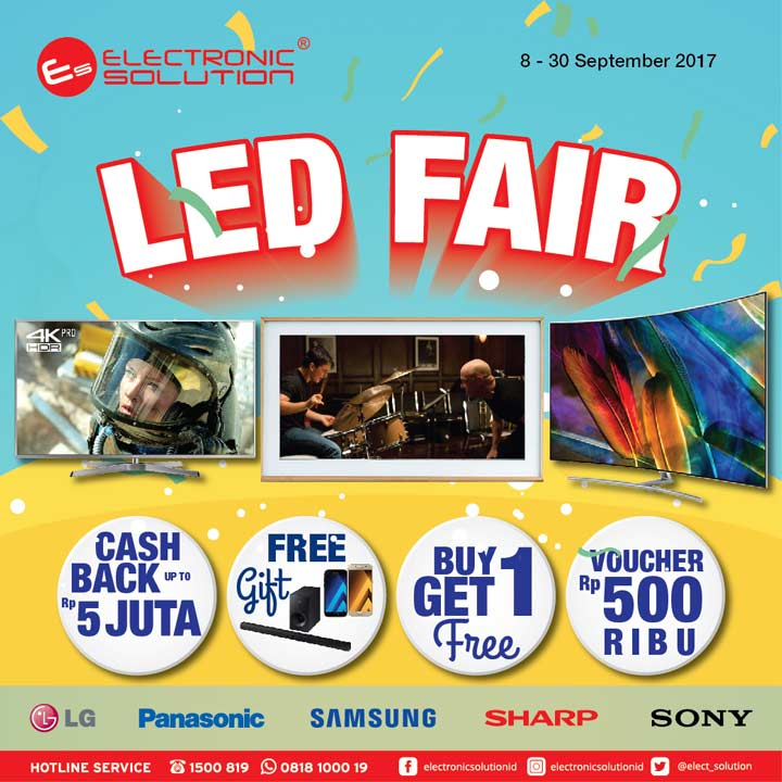 LED Fair at Electronic Solution