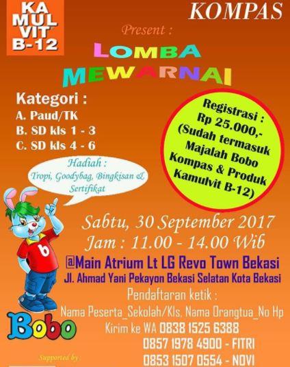 Lomba Mewarnai Di Revo Town Revo Town