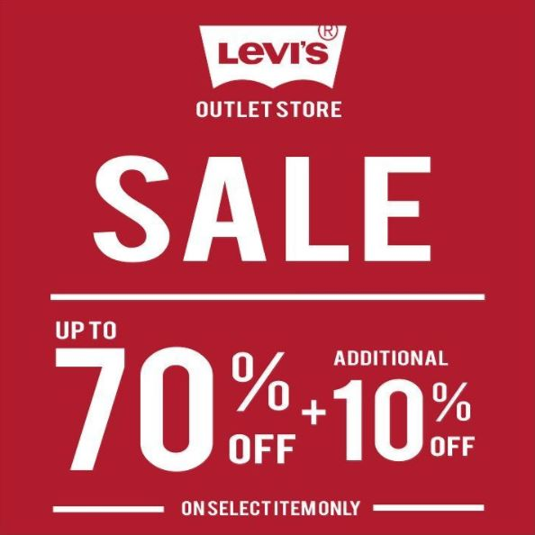 Sale Up to 70% + 10% from Levi s Outlet - Grand City Surabaya a34bf1b4f