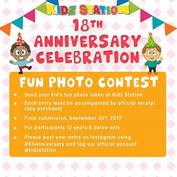Fun Photo Contest from Kidz Station