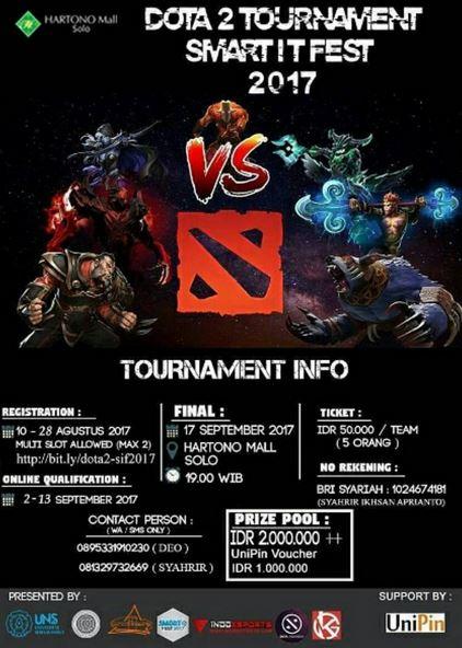 Dota 2 Tournament at Hartono Mall Solo - Gotomalls