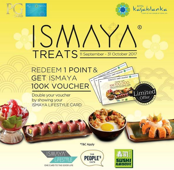 Get Voucher Worth Rp 100.000 from Kota Kasablanka</h3>