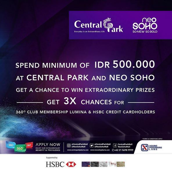 Promotion Shop & Redeem at Central Park Mall</h3>