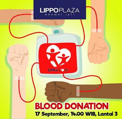 Blood Donation at Lippo Plaza Kramatjati