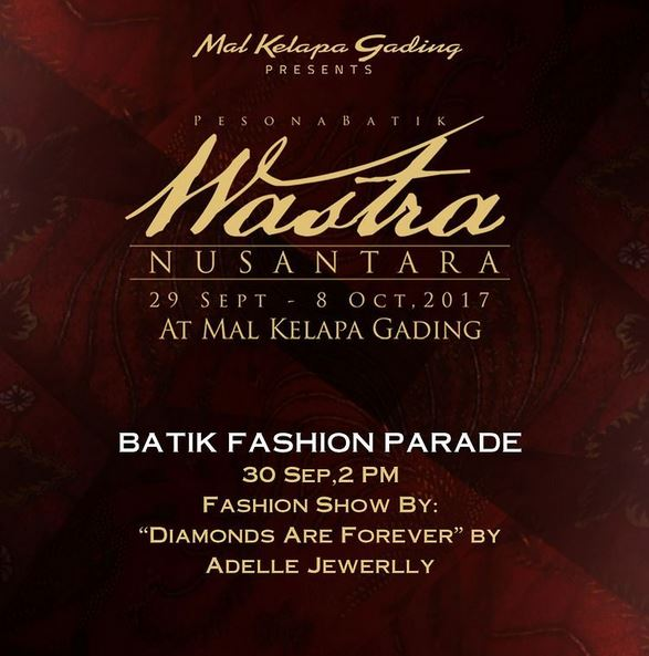 Fashion Show by Adelle Jewellery at Mal Kelapa Gading