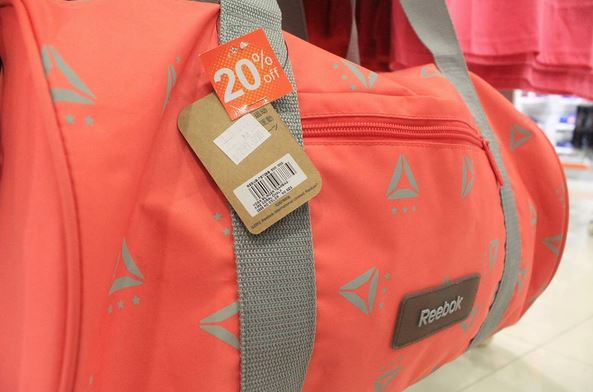 Discount 20% Reebok Bag at Sports Station Hartono Mall Solo</h3>