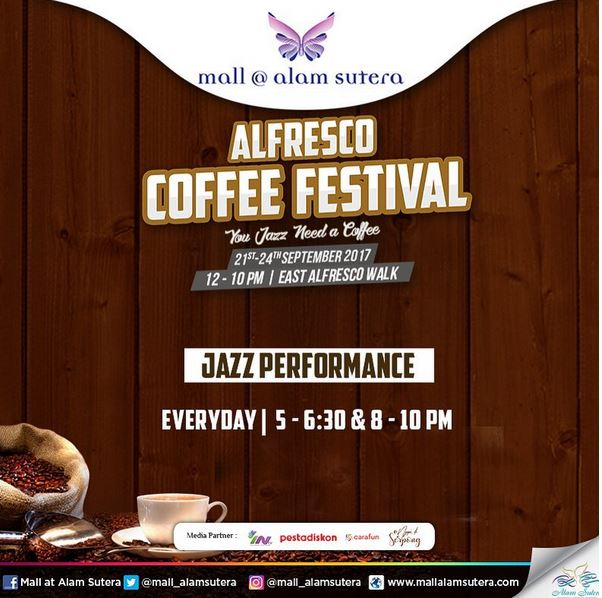 Event Jazz Performance at Mall @ Alam Sutera