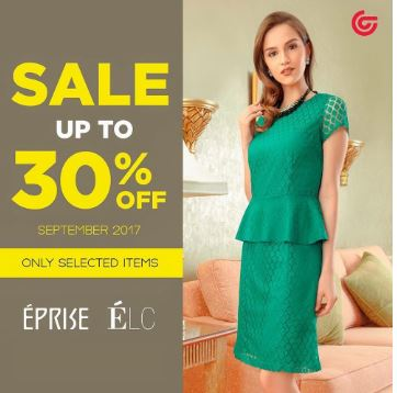 Discount Up to 30% off Eprise and ELC at Matahari Department Store