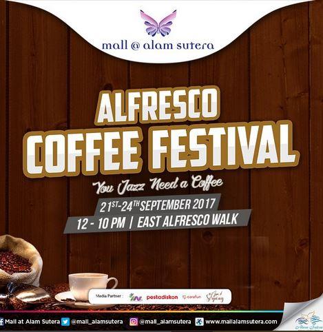 Alfresco Coffee at Mall @ Alam Sutera