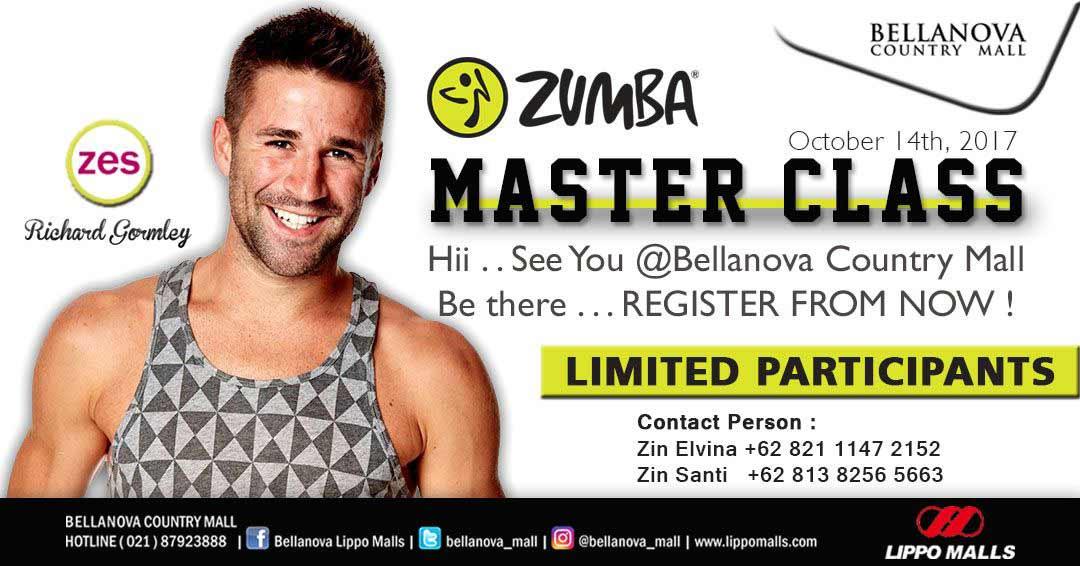 Zumba Master Class di Bellanova Country Mall