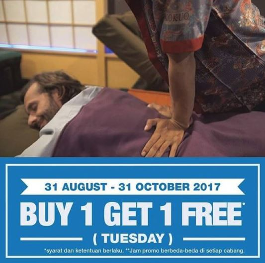 Buy 1 Get 1 Free from Kokuo Reflexology