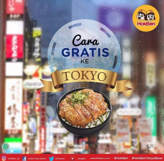 Go to Tokyo for Free from Hoka Hoka Bento