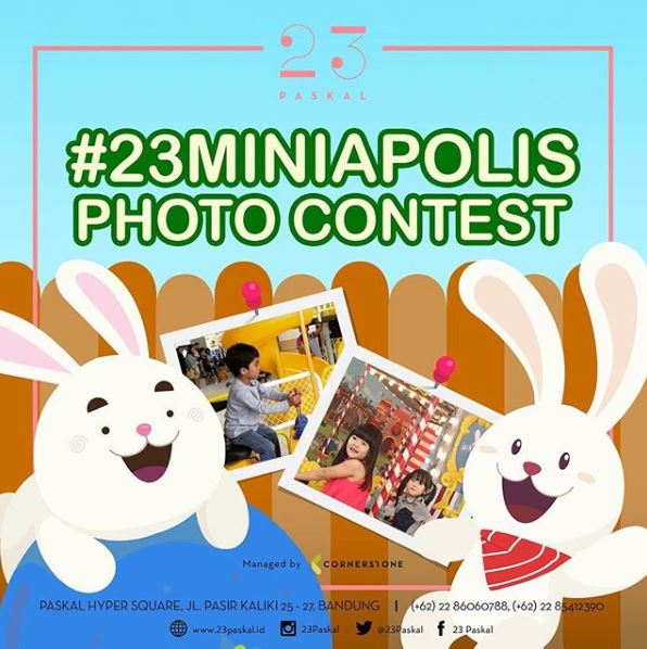 Photo Contest at 23 Paskal Shopping Center