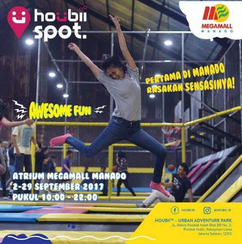 Trampoline Playground with Houbii Spot