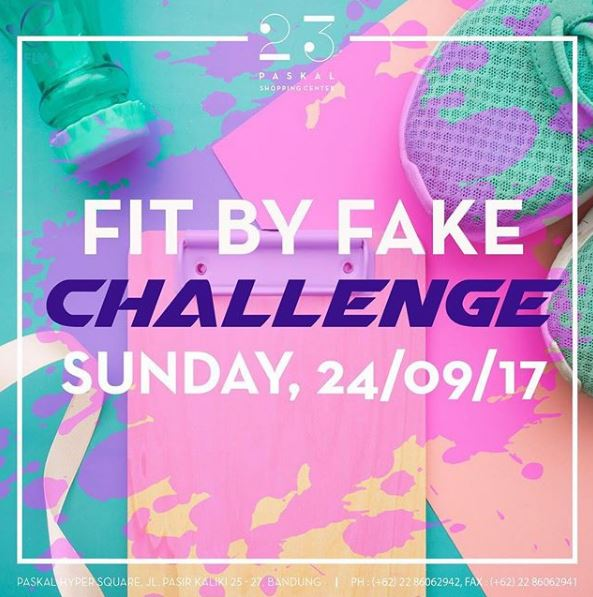 Sunday Fun Run & Workout Challenges at 23 Paskal Shopping Center