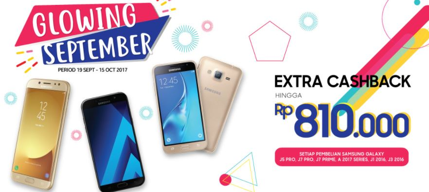 Glowing September promotion from Erafone