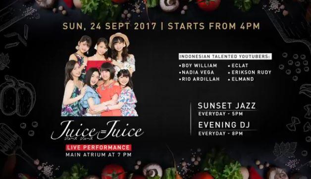 Juice Live Performance at PIK Avenue