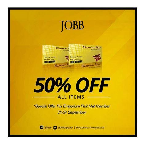 Discount 50% at Emporium Pluit Mall