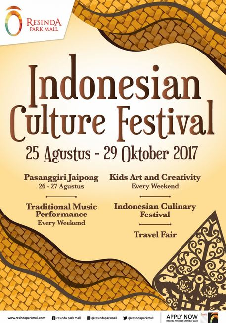 Indonesian Culture Festival at Resinda Park Mall  Gotomalls