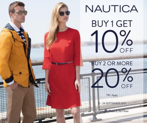 Newest Discount from Nautica at Tunjungan Plaza