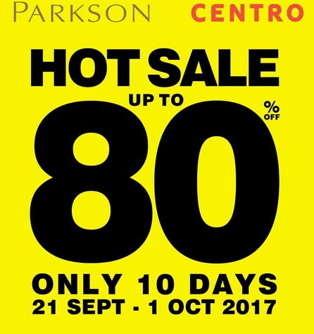 Hot Sale Up to 80% at Resinda Park Mall