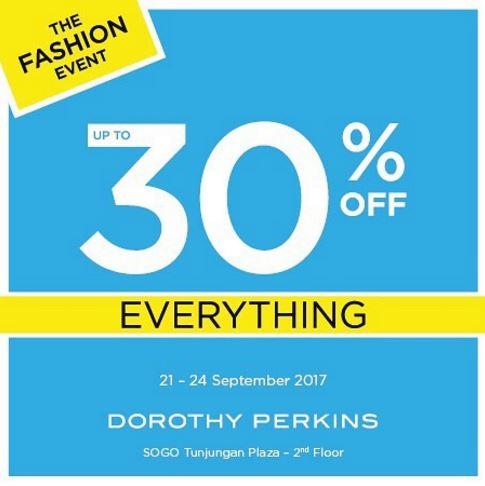 Dorothy Perkins Up To 30% Off at Tunjungan Plaza