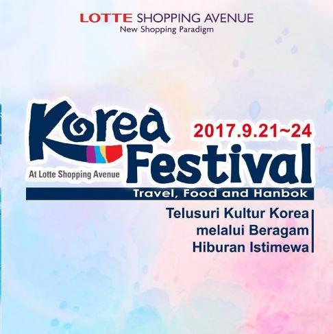 Festival Korea di Lotte Shopping Avenue
