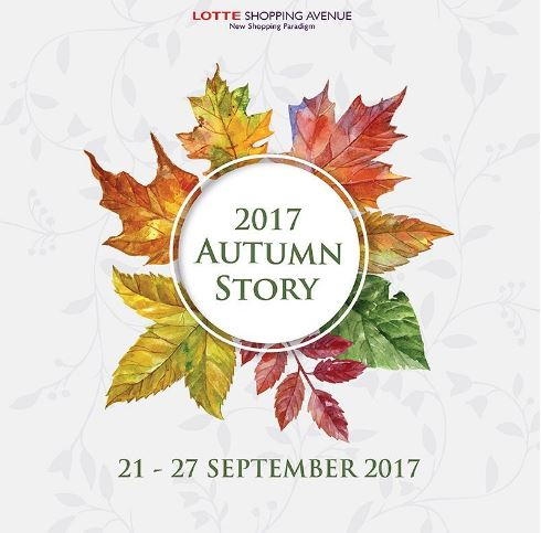 Autumn Story at Lotte Shopping Avenue