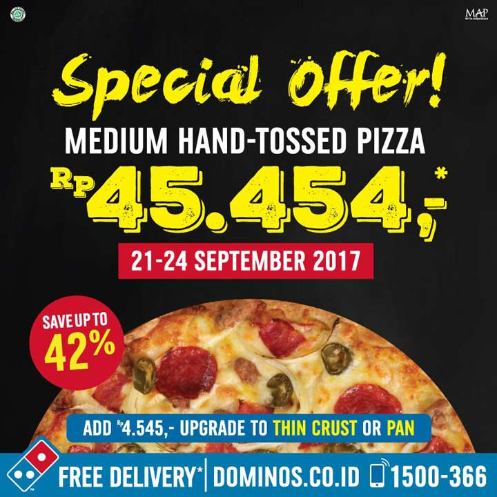 Special offer from Domino's Pizza
