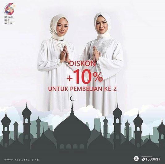 Extra Discount 10% from Elzata