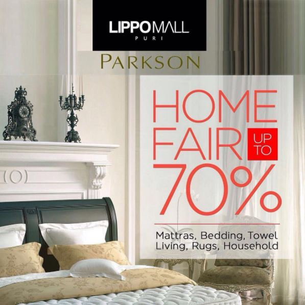Discount Up to 70% from Parkson at Lippo Mall Puri