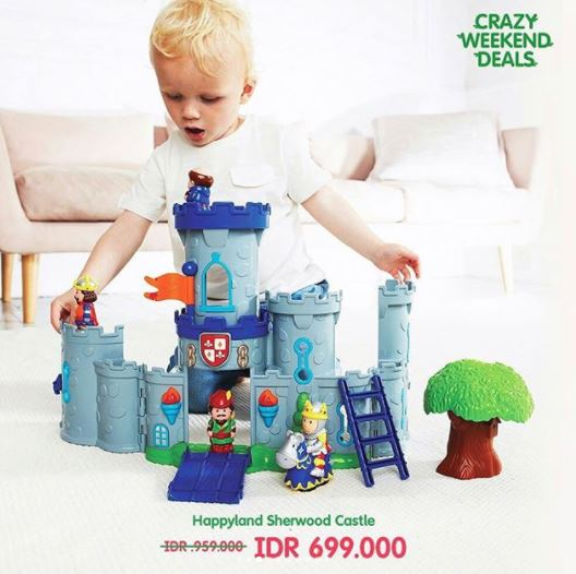 Discount up to Rp 300,000 for Happyland Sherword Castle in ELC