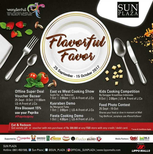 Event Flavorful Favour at Sun Plaza