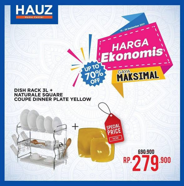 Promotion Special Price at Hauz Exhibition