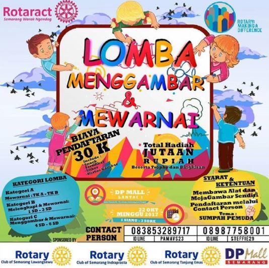 Drawing and Coloring Competition at DP Mall Semarang - Gotomalls