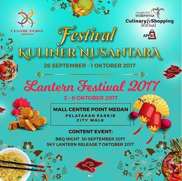 Festival Kuliner Nusantara Di Centre Point Medan Gotomalls