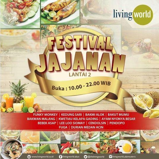 Festival Jajanan at Living World Mall