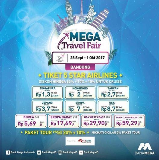 Mega Travel Fair Di Tsm Bandung September 2017 Gotomalls