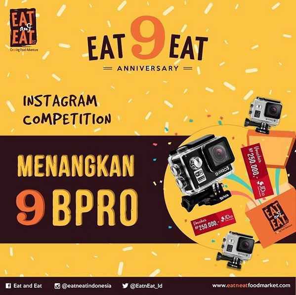 Eat n Eat Instagram Competition