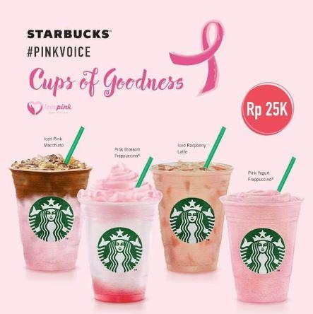 Peduli Kanker Payudara bersama Starbucks