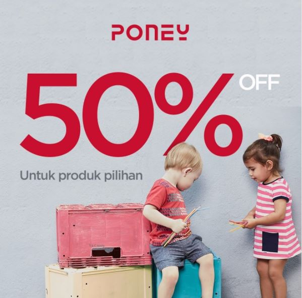 Discount 50 From Poney Store Grand Indonesia