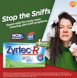 Zyrtec-R Promotion at 7-Eleven
