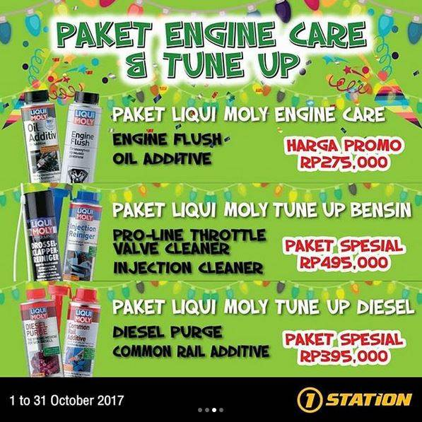 Engine & Tune Up Package Promotion at 1 Station