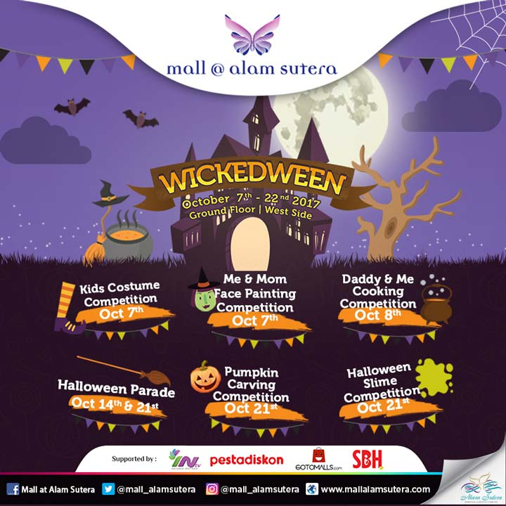 Wickedween Event at Mall @ Alam Sutera