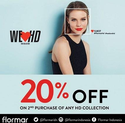 Discount 20% Promo dari Flormar