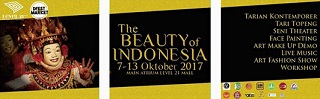 The Beauty Of Indonesia 2015 at Level 21 Mall