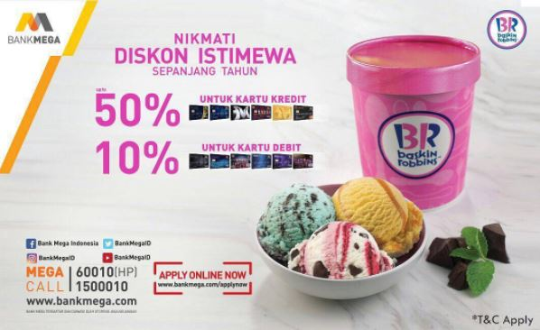 Special Discount from Baskin Robbins