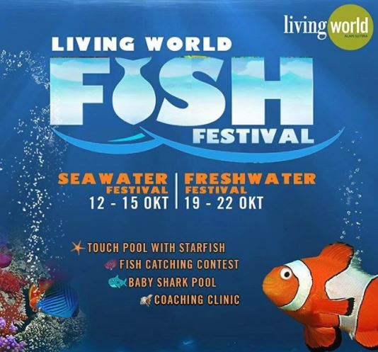 Fish Festival at Living World Mall Alam Sutera