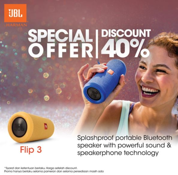 Discount 40% from JBL